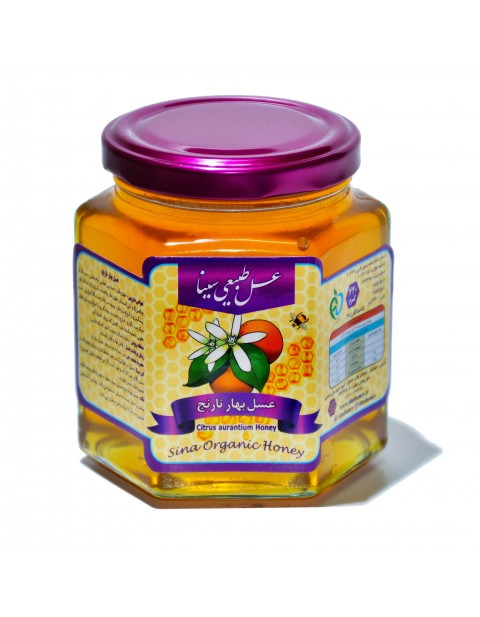 عسل بهارنارنج 500 گرمی