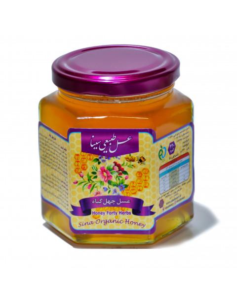 عسل چهل گیاه 500 گرمی